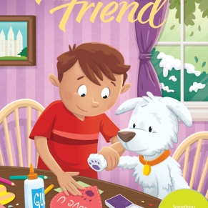 Cover Illustration for The Friend Magazine