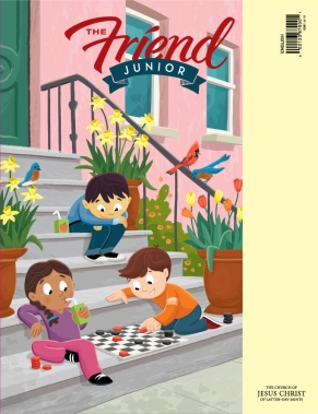 Cover Illustration for The Friend Junior Magazine