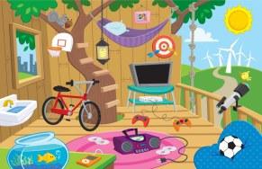 Design for interactive SDG&E Kids' website